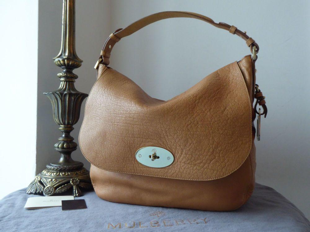Mulberry Postmans Lock Hobo In Deer Brown Buffalo Shine Leather In 2020 Leather Bag Display Brown