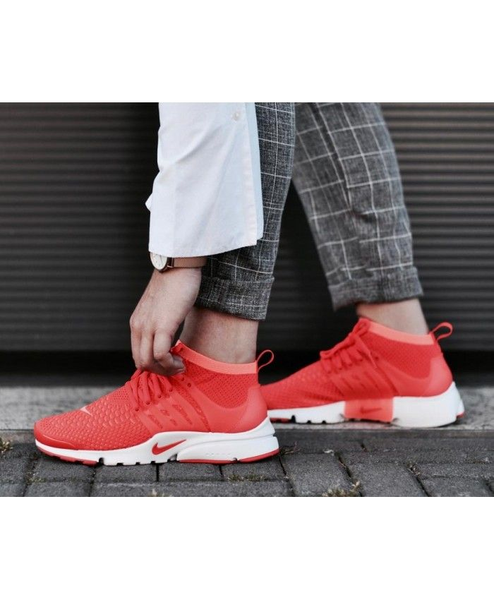 nike air presto flyknit rouge