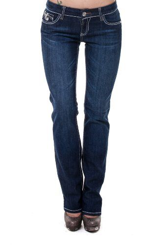 VIRGIN ONLY Womens Classy Straight Jeans27Denim ** You can get more details by clicking on the image.(This is an Amazon affiliate link and I receive a commission for the sales)