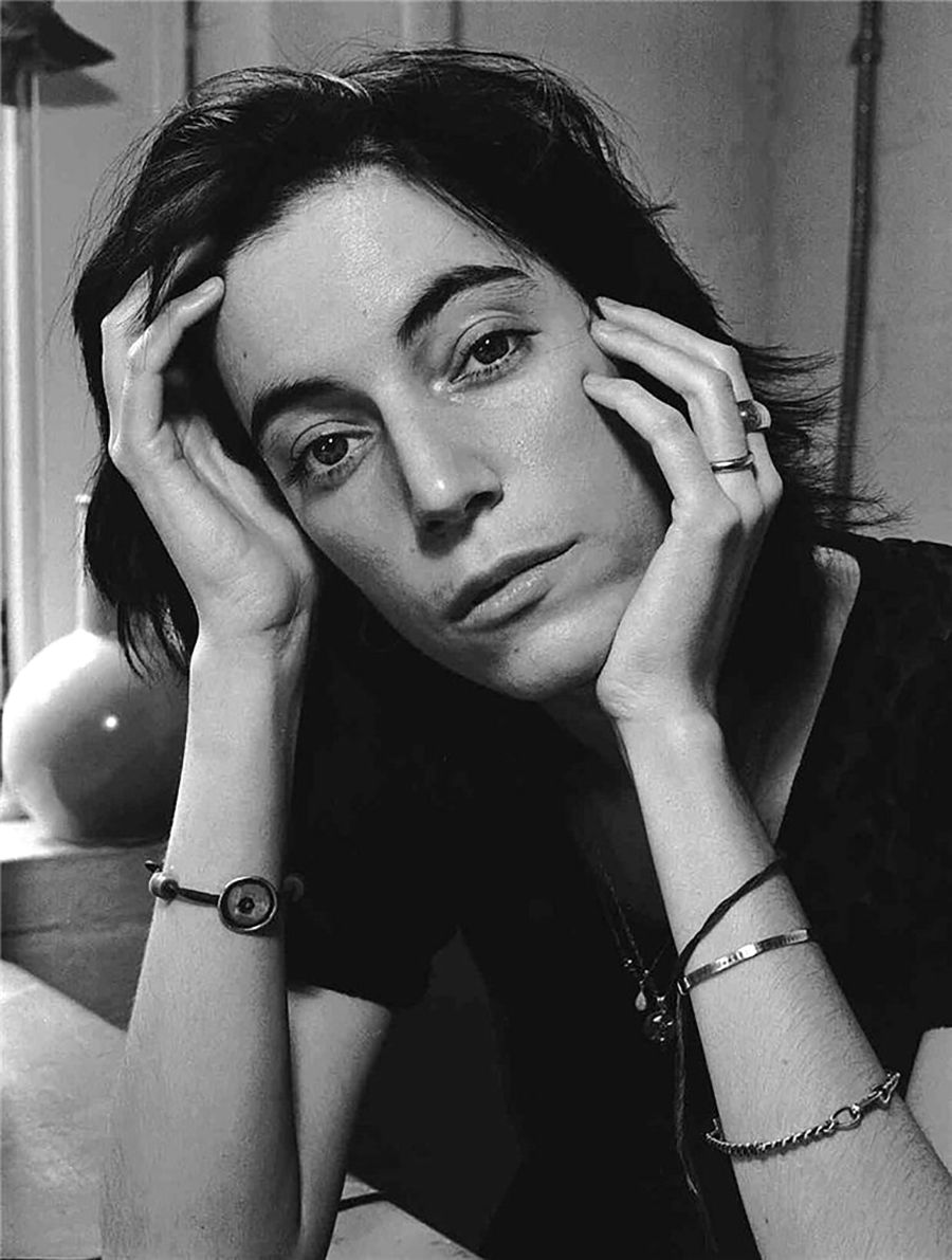 "Patti Smith, ""Vogue"", New York, NY, 1973, by Frank Stefanko"