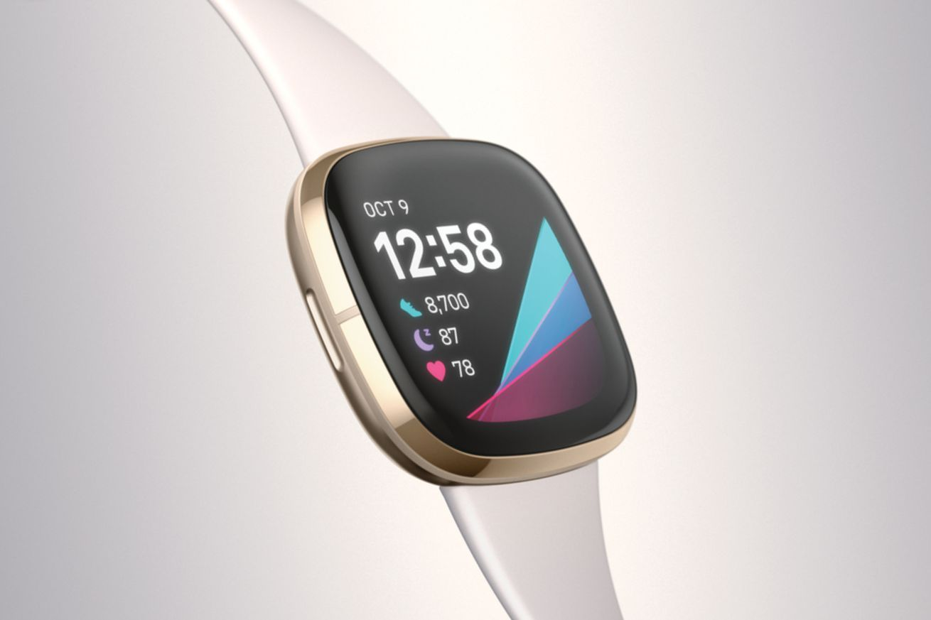 Fitbits new Sense smartwatch can take your skins temperature to help you manage stress