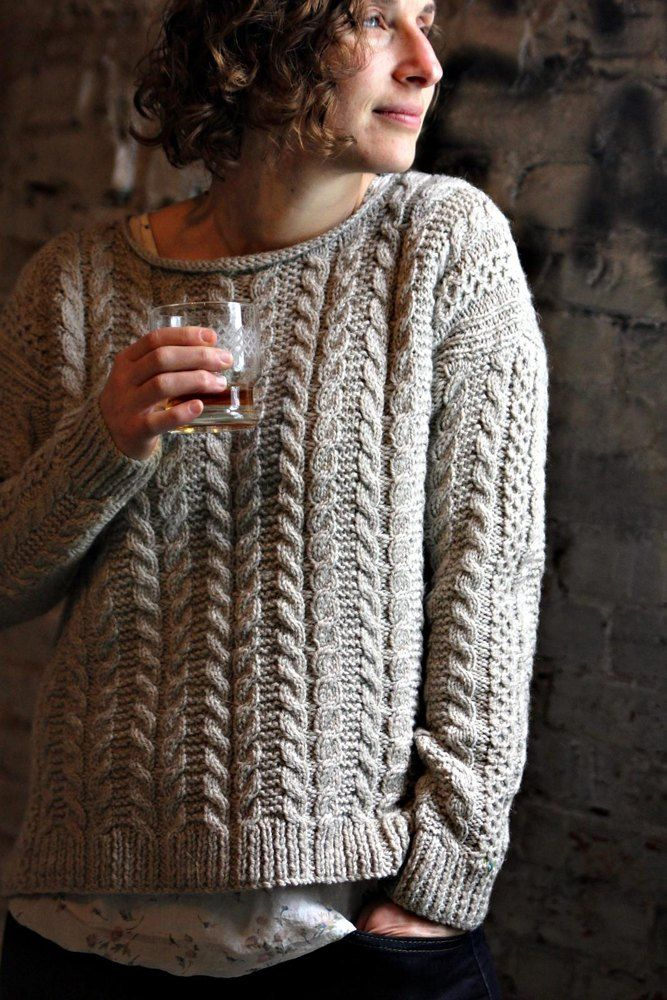 Photo of The Oban Sweater Knitting pattern by BabyCocktails/Thea Colman