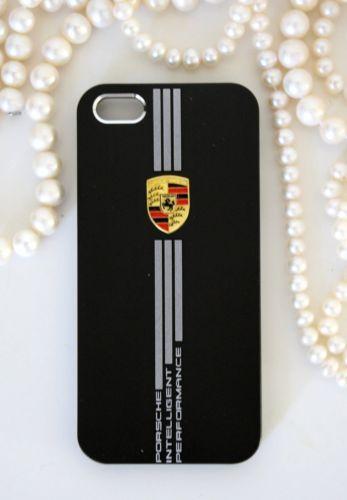 Porsche iPhone 5 5s skal i svart aluminium  bee81617ca45a