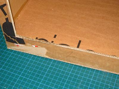 Creation En Carton Recycle En Utilisant La Technique Du Boitage Meuble En Carton Tuto Carton Meuble En Carton
