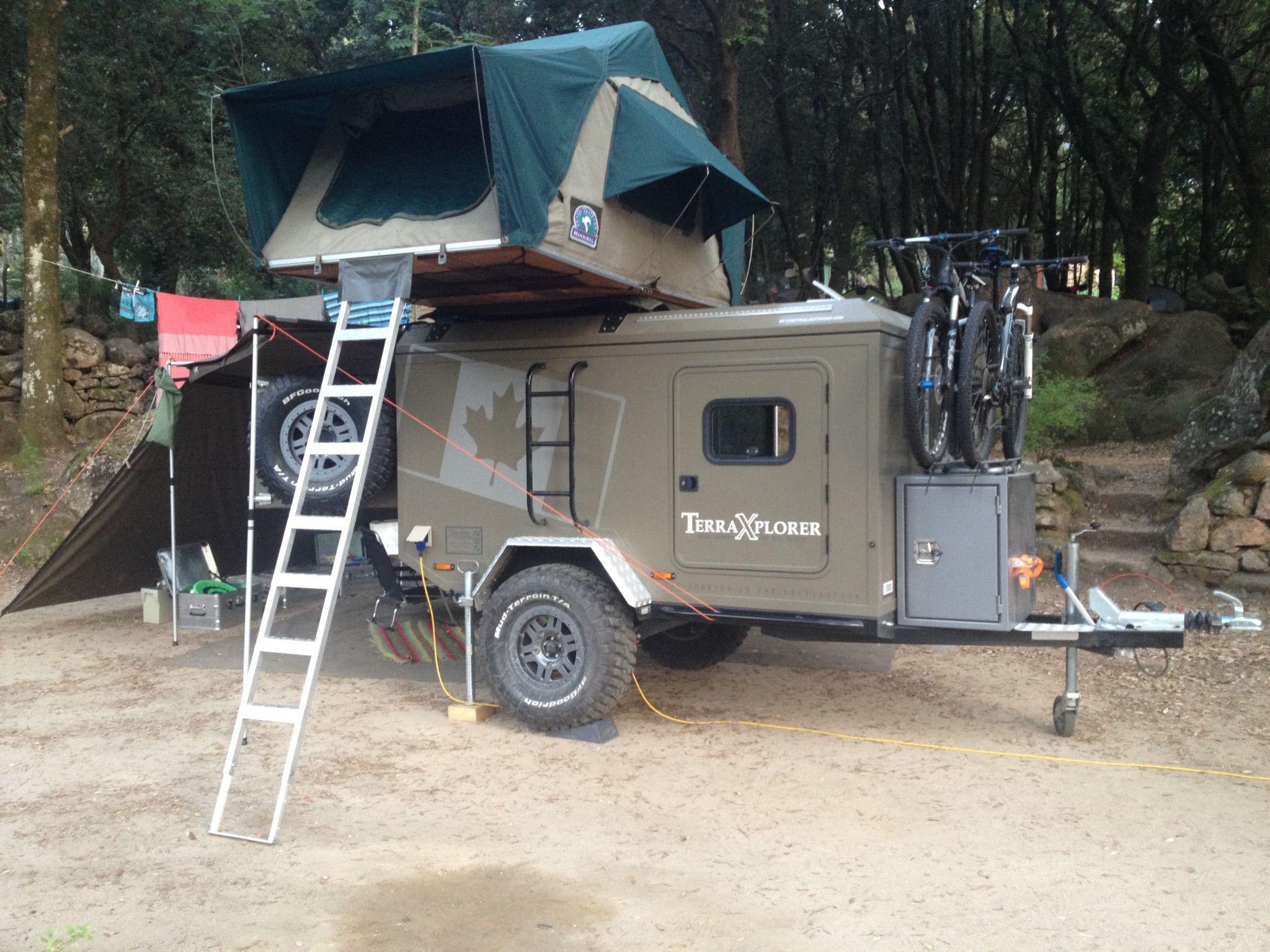 My Terra Xplorer Trailer Camping Pinterest Camper Trailers