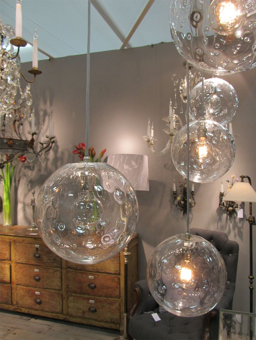 eclectic lighting. Eclectic Lighting From 1840 To 1970 Norfolk Decorative Antiques At The Fair E