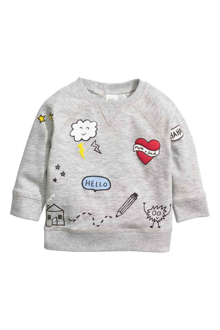 e486b08eb Printed sweatshirt