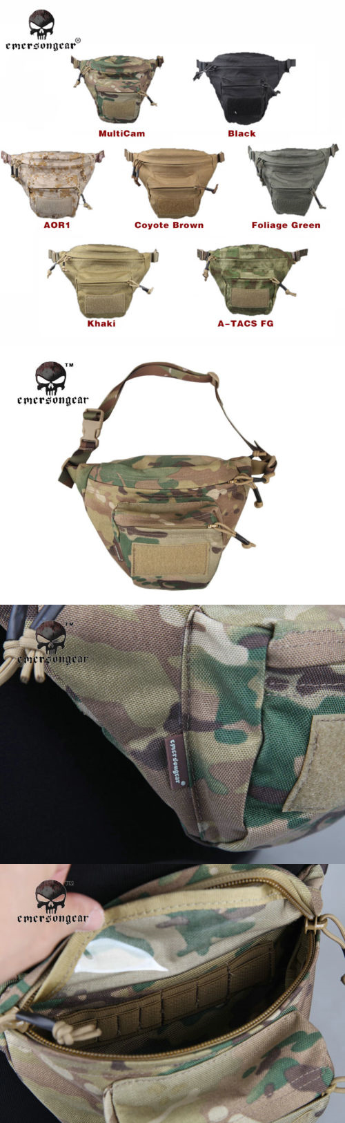 Waist Packs and Bags 181380: Emerson Multi-Function Waist Bag Military Molle Pouch Combat Hunting Gear 9176 -> BUY IT NOW ONLY: $36.33 on eBay!