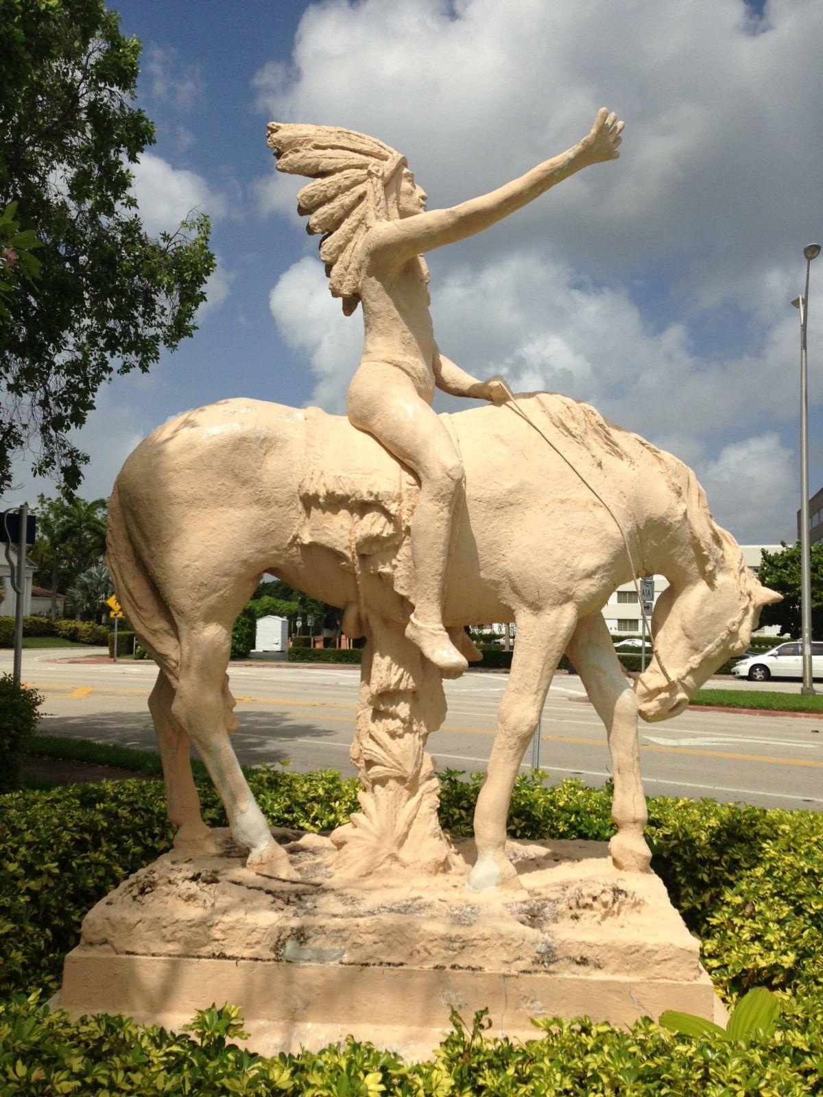 The Great Spirit by Ettore Pellegatta, 1924, Miami Beach