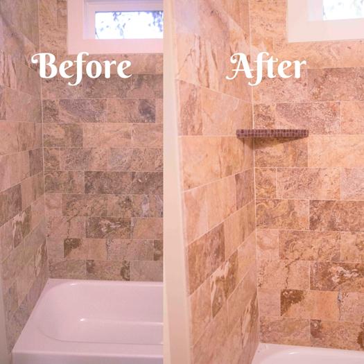 Shower Shelves For Tile | Tile Design Ideas