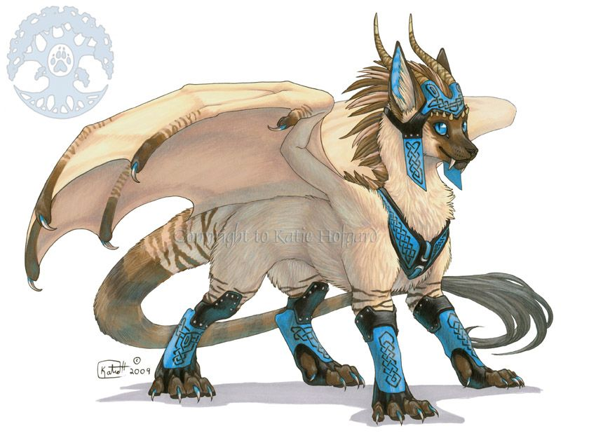 Kataragon War Regalia Mythical Creatures Art Dragon Cat Fantasy Creatures