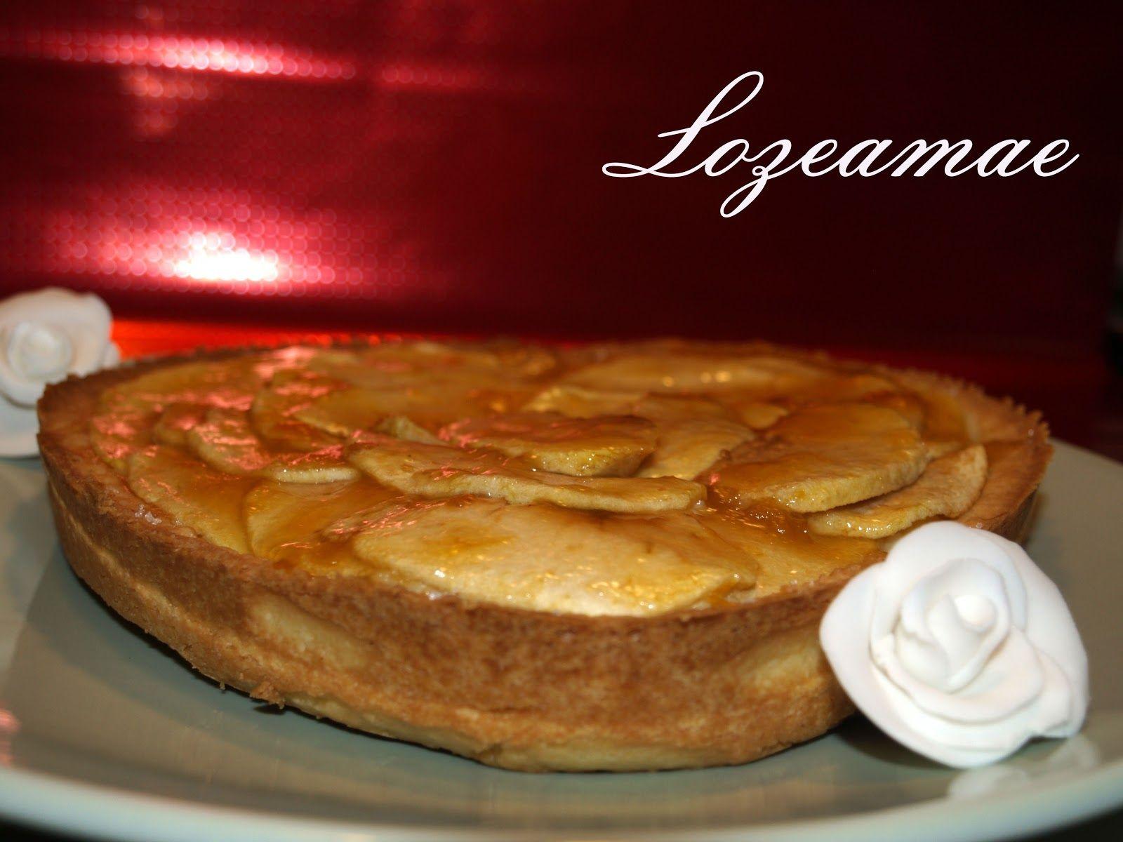 Tarta de Manzana para San Valentin
