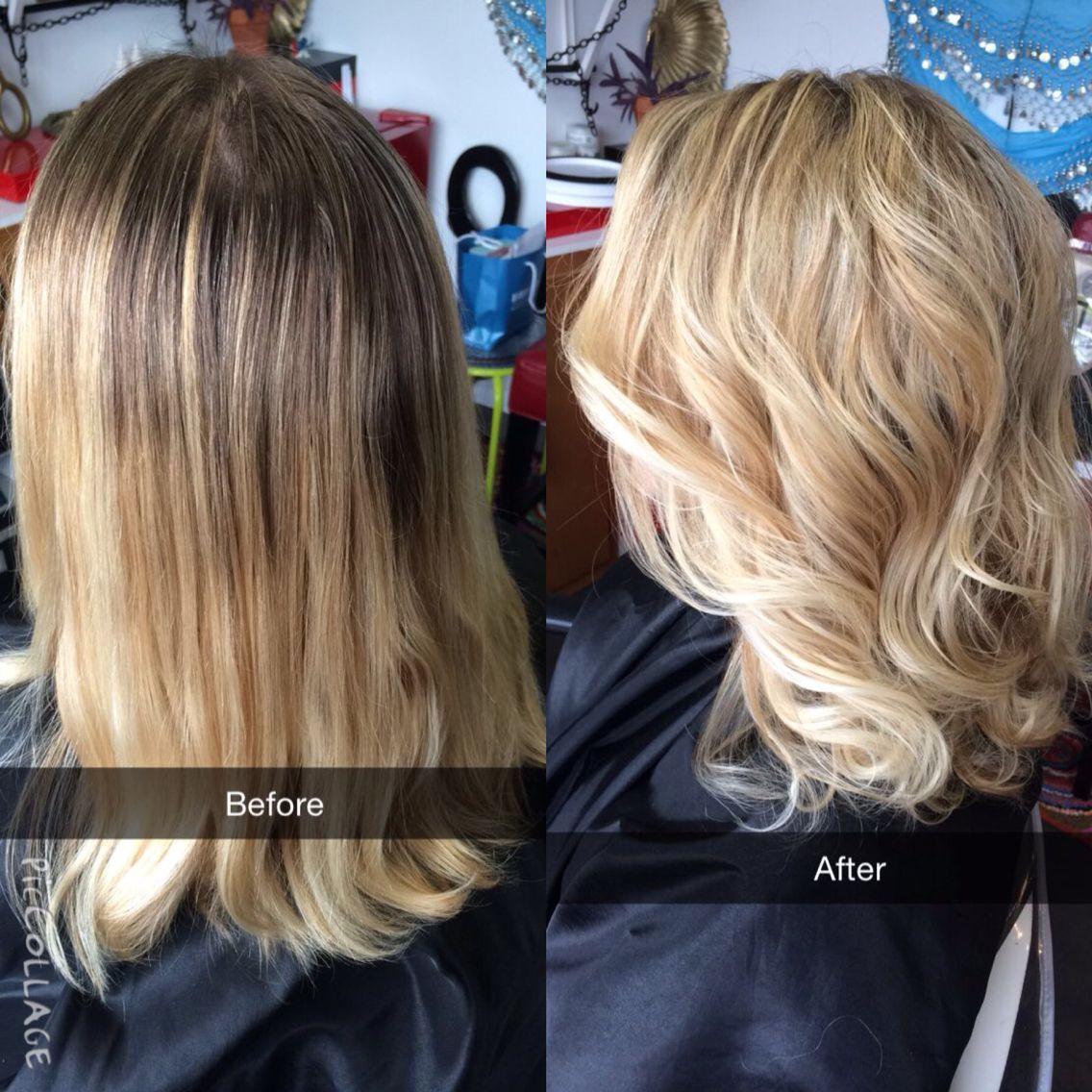 Blonde Highlights Base Break Hair Inspiration Color Blonde Highlights Hair Beauty