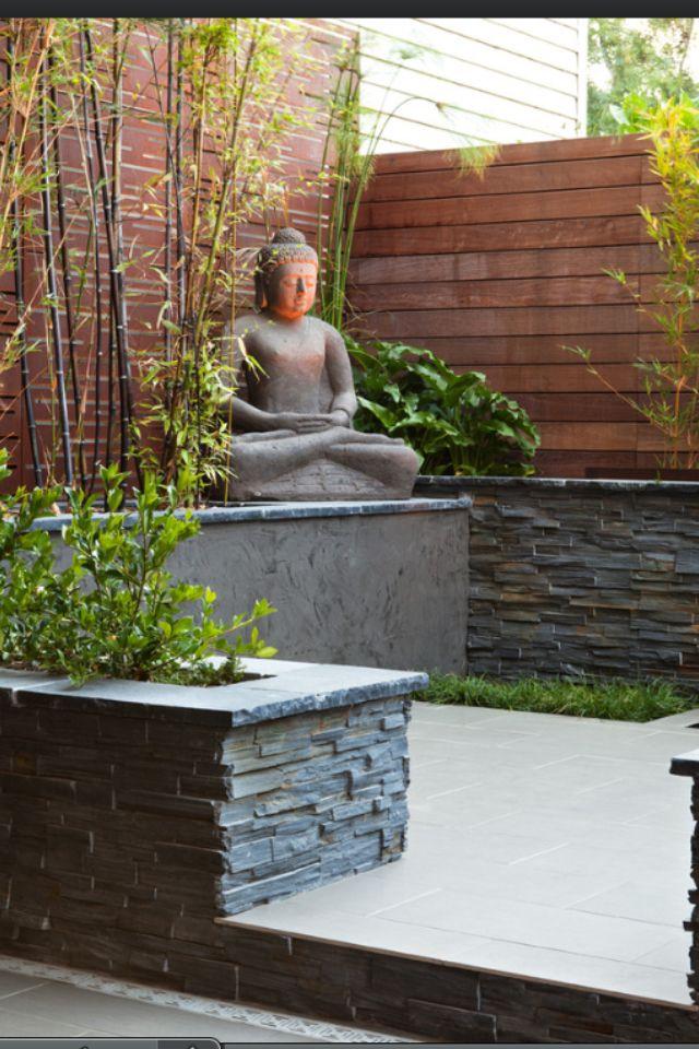 Buda flores jardines y terrazas aire libre - Plantas para jardin zen ...