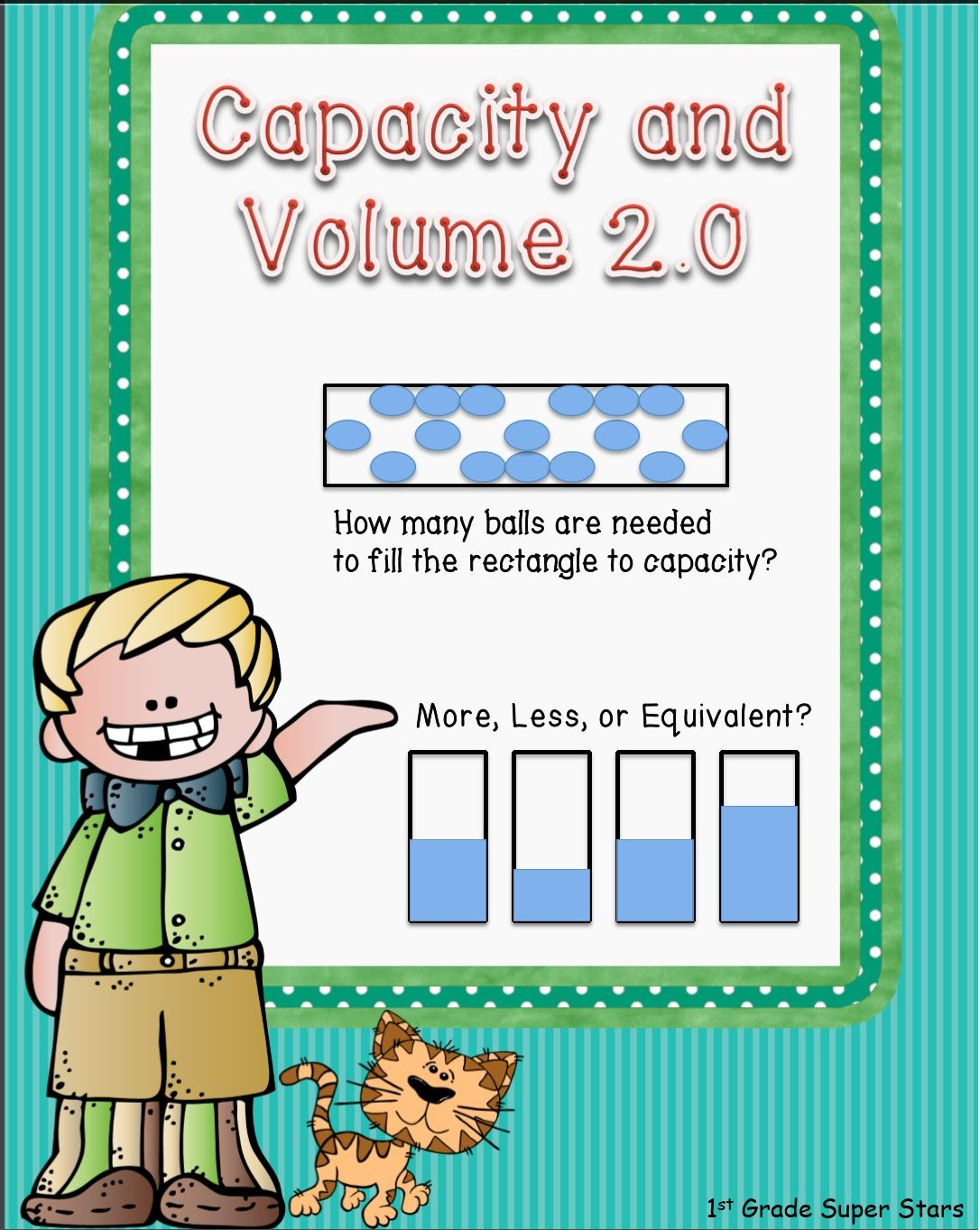 This 12 Page Workbook Contains 5 Capacity And 5 Volume