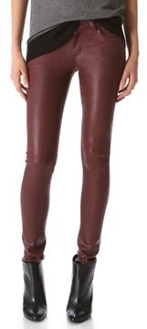 Citizens of humanity Racer Leatherette Jeans on shopstyle.com