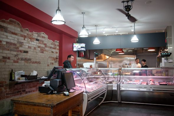 Butcher Shop Butcher Hence The Name Team Up To Run A