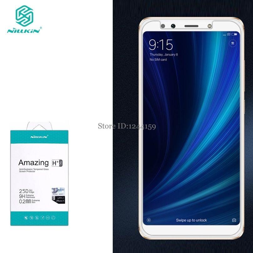 For Xiaomi Mi A2 Tempered Glass Nillkin Amazing H+Pro Anti