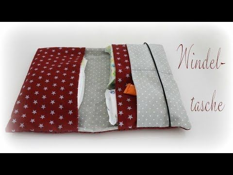 Photo of Windeltasche mit Gummiband nähen * DIY * Sew a Diaper Bag [eng sub]