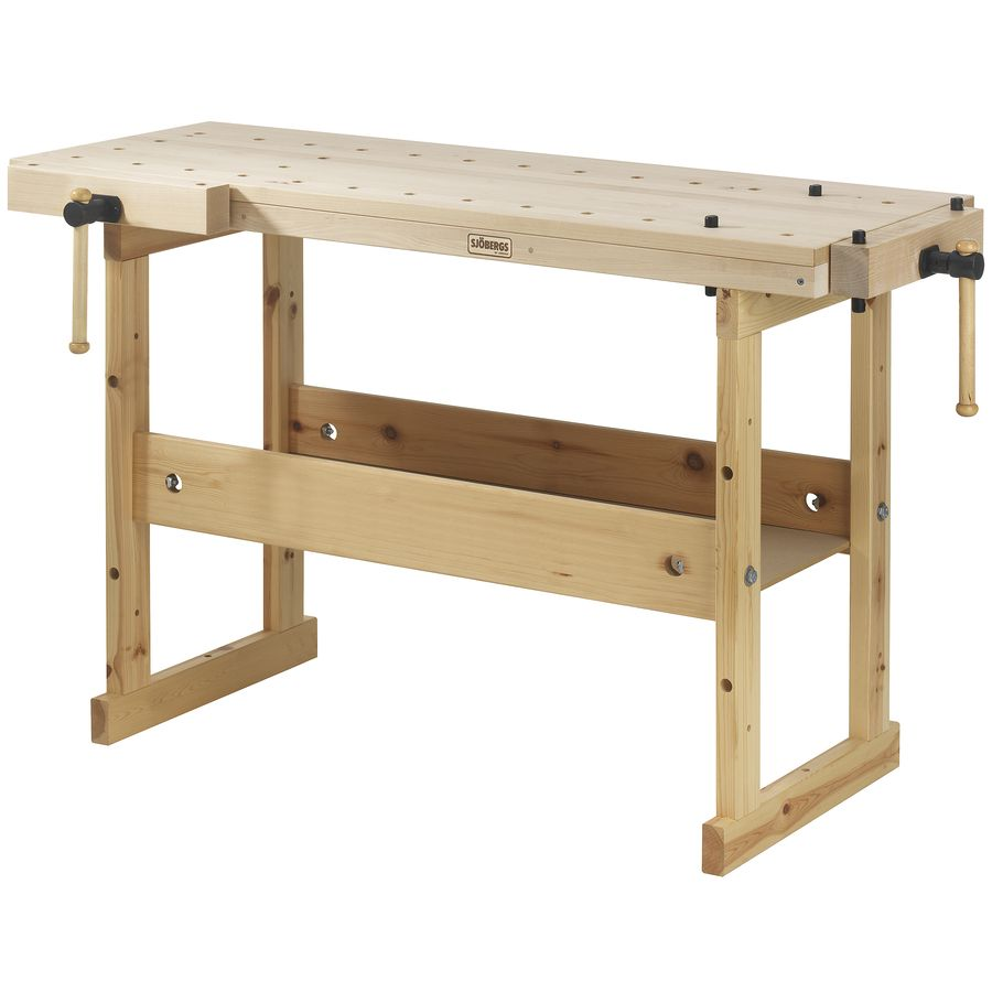 19.656-in W x 32.281-in H Wood Work Bench Sjobergs 19.656-in W x 32.281-in H Wood Work Bench | SJO-33281