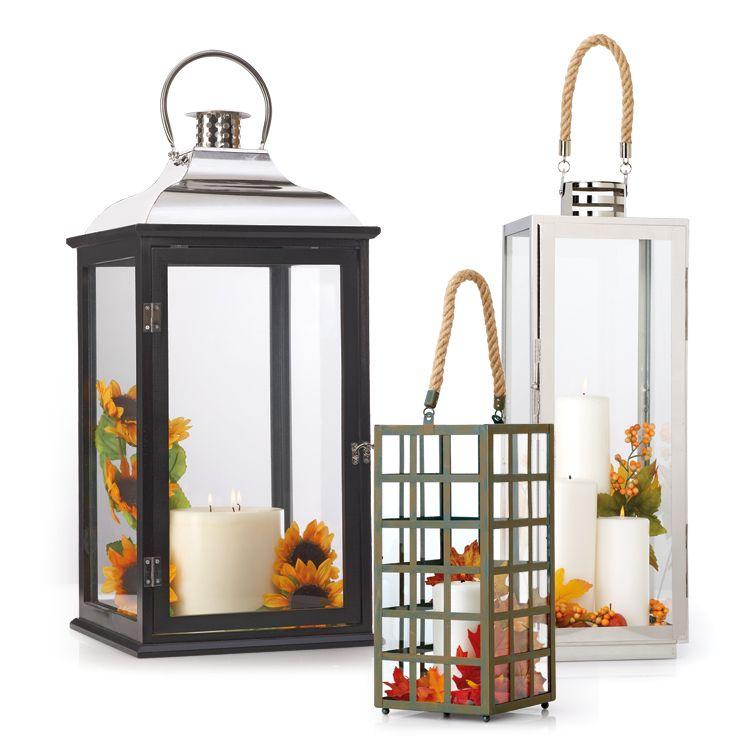 Wood & Metal Lanterns