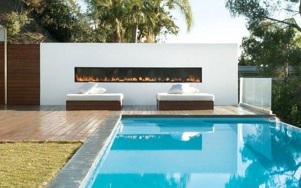 Outdoor home pool  Fantastic Outdoor Home Pool Photo | Garden ideas | Pinterest ...