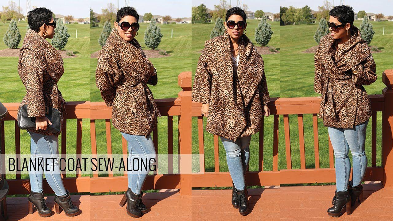 DIY Blanket Coat Sew-Along