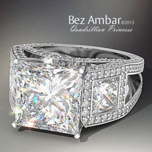diamond-ring-princess-cut-Principesa-