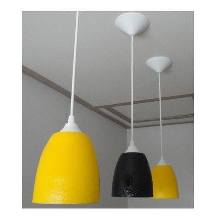 Luminária Pendente Cerâmica