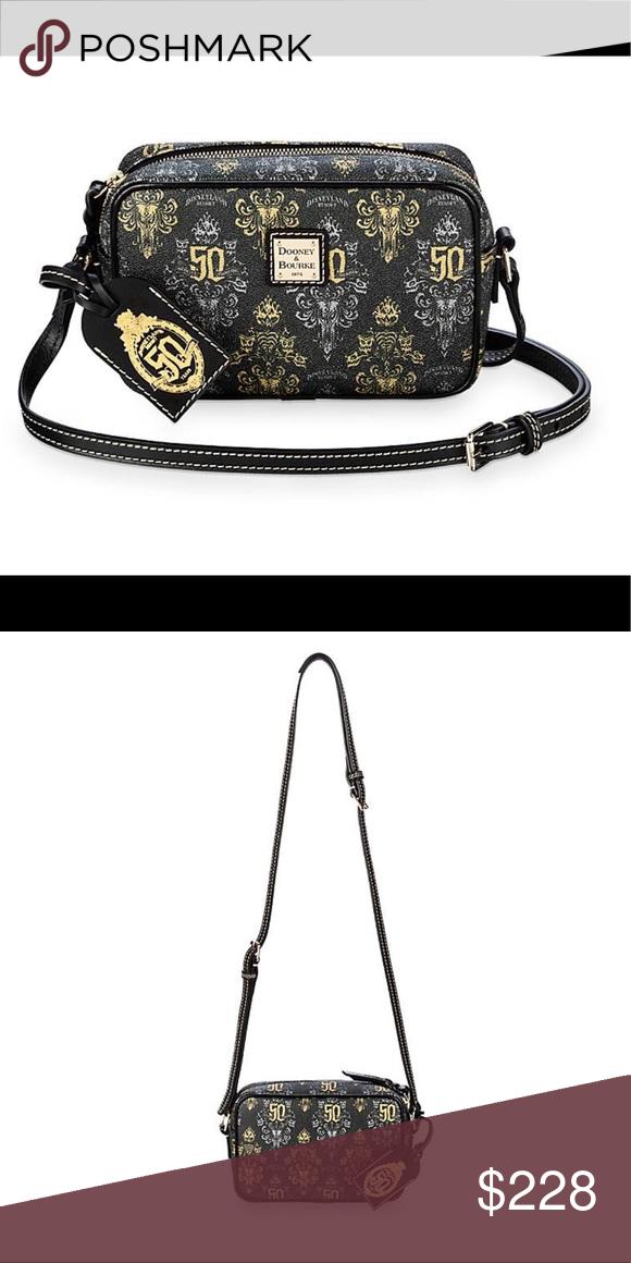 The Haunted Mansion Crossbody Bag Dooney Bourke In 2020 Disney Handbags Dooney Dooney Bourke