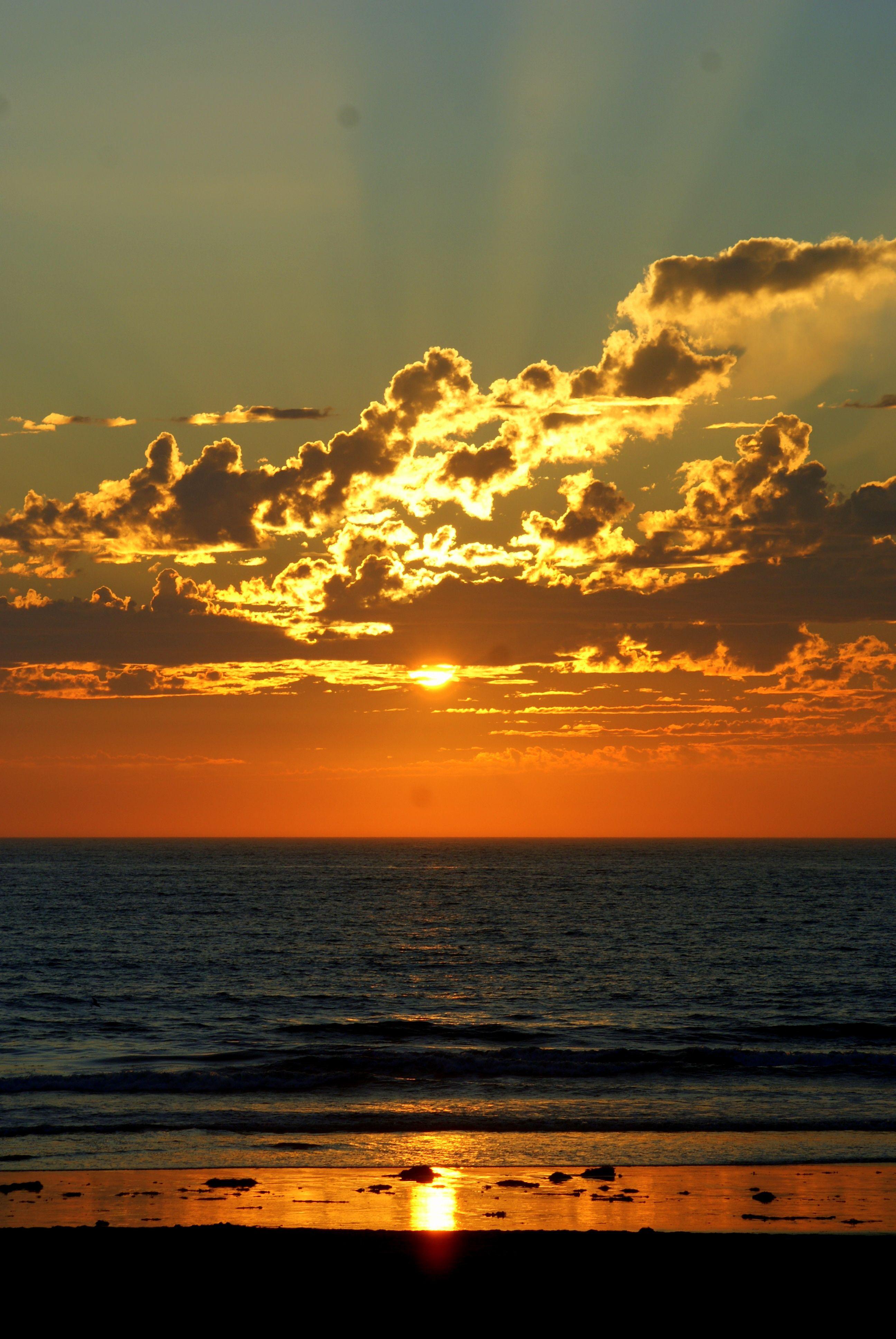 Sunset In Mission Beach, San Diego