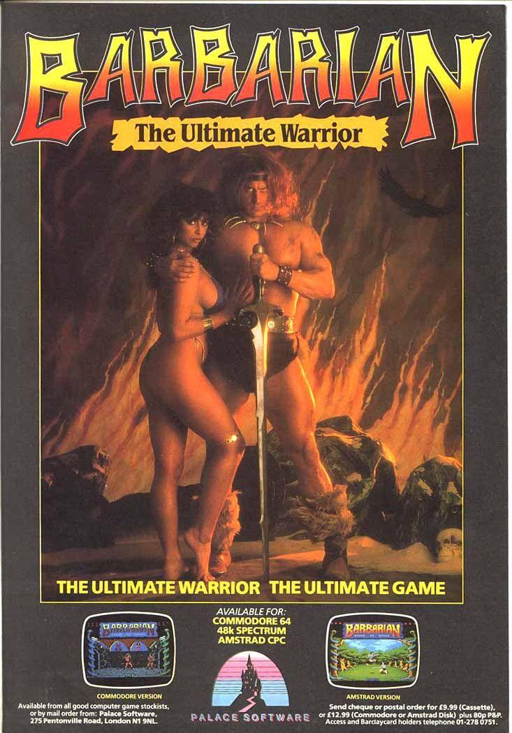 Barbarian - The Ultimate Warrior (Commodore 64) | Commodore