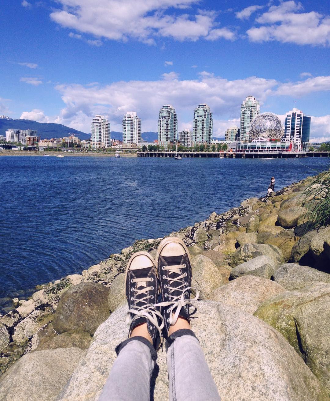 Blue Monday #Vancity     #Vancouver #Seaside #HingePark #ScienceWorld #FalseCreek #Seawall  #EastVan #explore #wanderlust #walk #blue #sea #sky #beautiful #BC #summer #city by marysevic