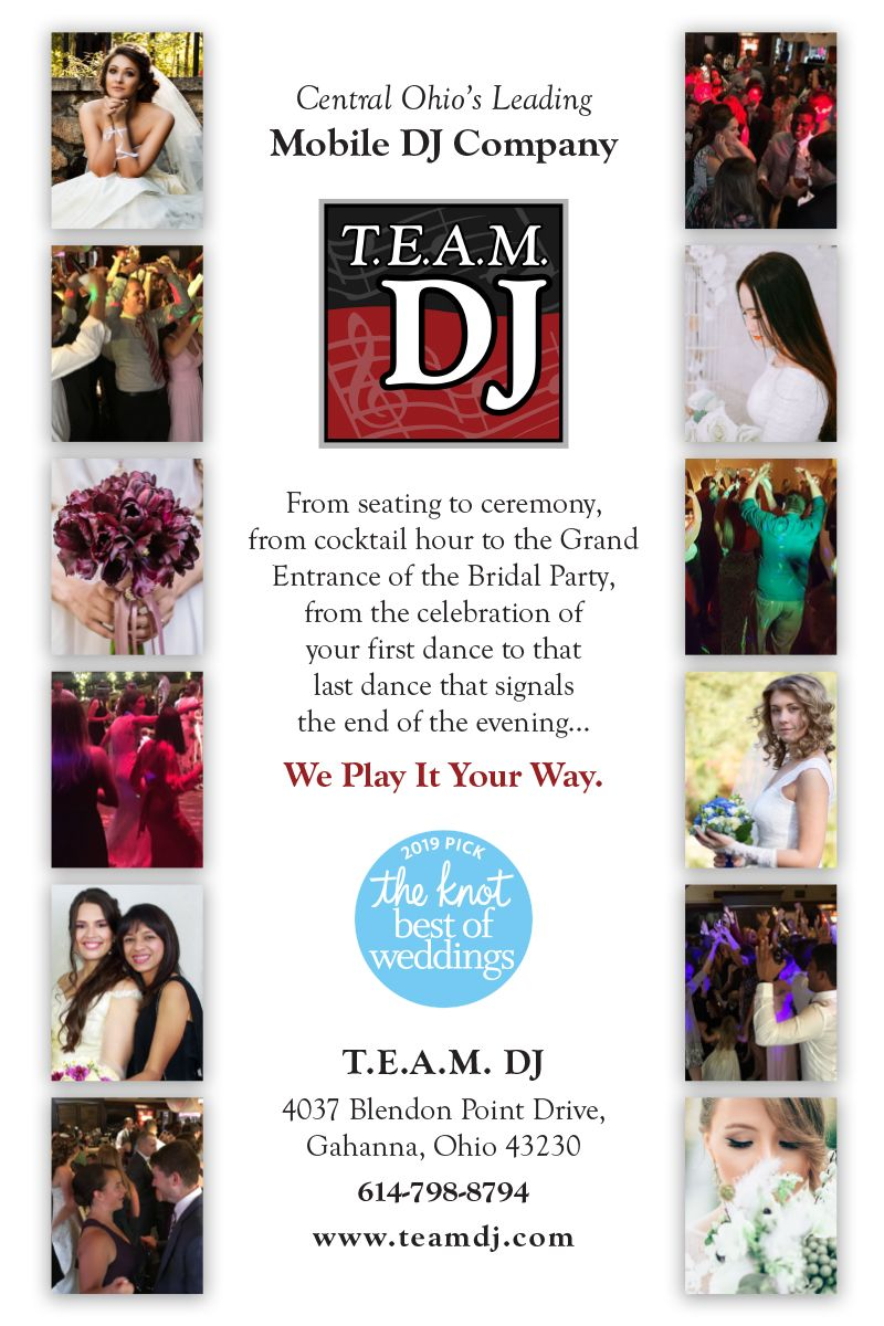 Team Dj Central Ohio S Leading Mobile Dj Company We Play It Your Way Dj Wedding Columbus 614 Columbuswedding Thek With Images Dj Company Wedding Dj Bridal Party