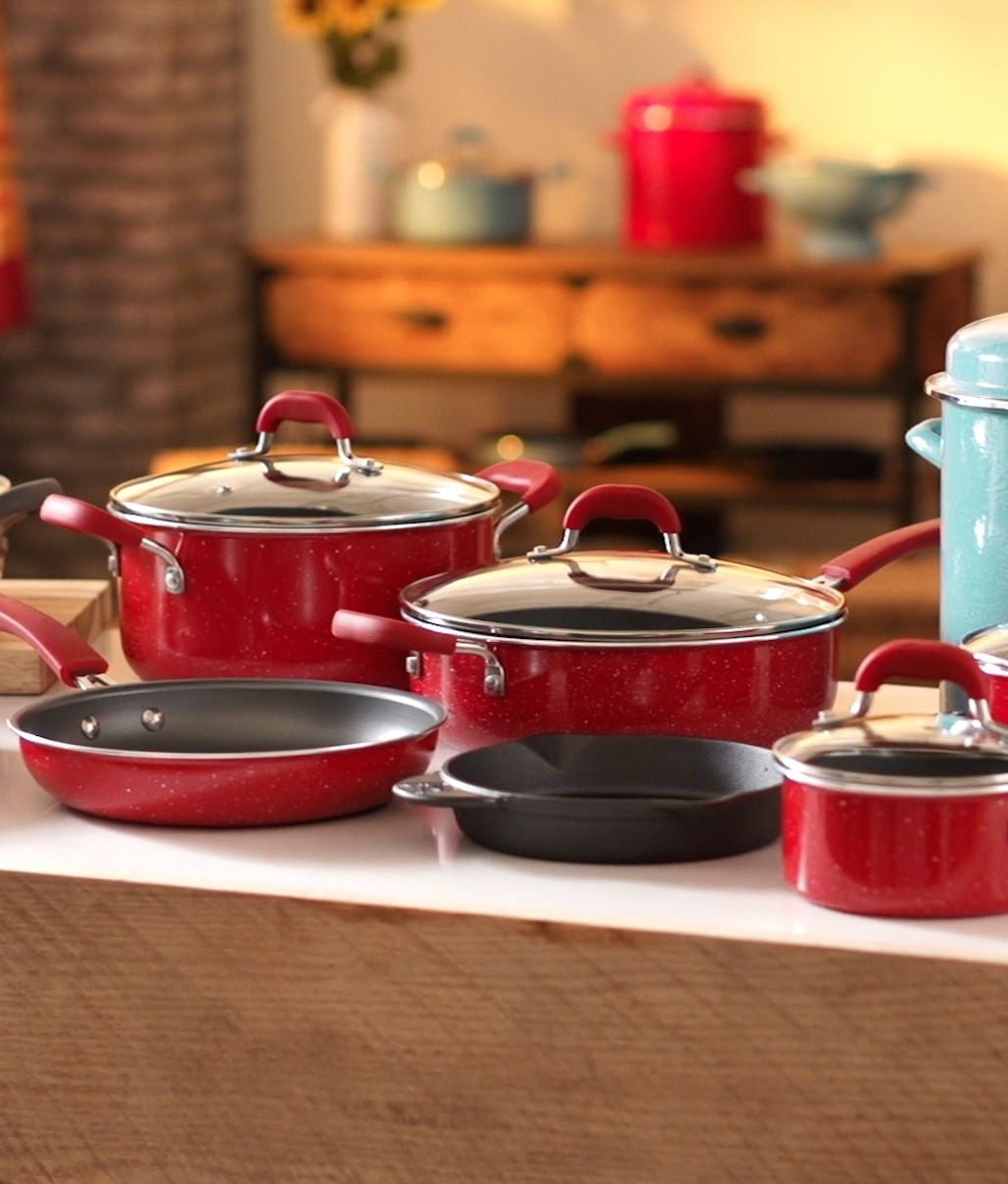 Now You're Cooking! Bring Some Color To Your Kitchen With