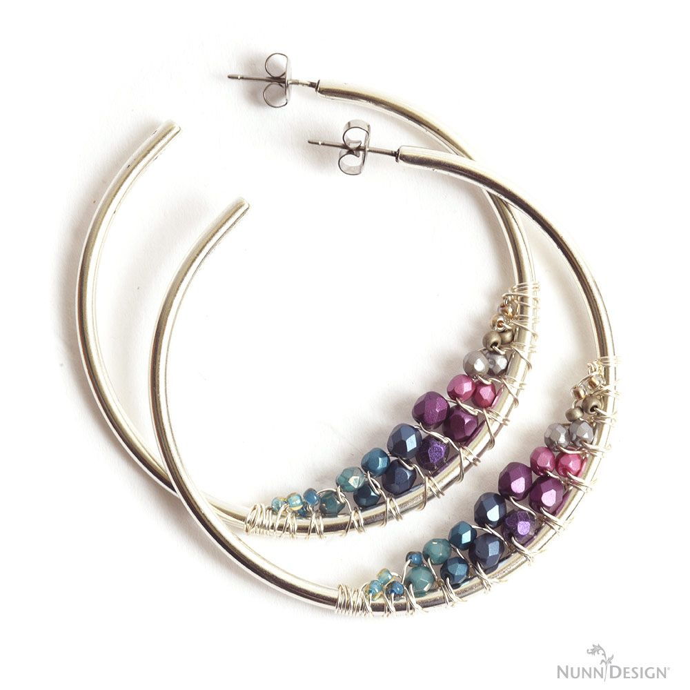 Photo of 2018 Fall Collection Features Hoop Earrings! Be Inspired! – Nunn Design