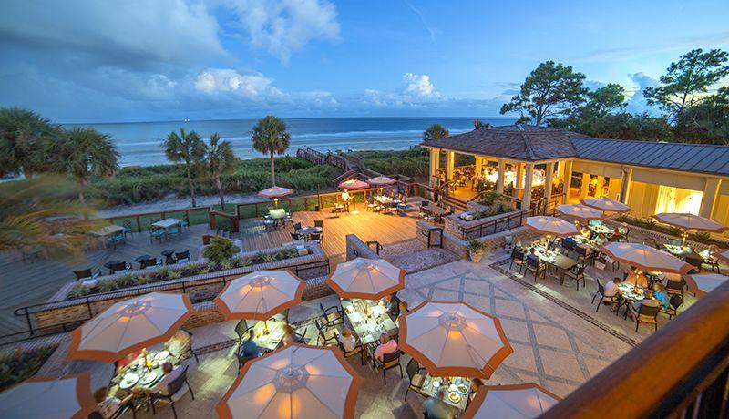 Top Outdoor Bars Coast On Hilton Head Island Sc Courtesy Of Rob Tipton The Sea Pines Resort