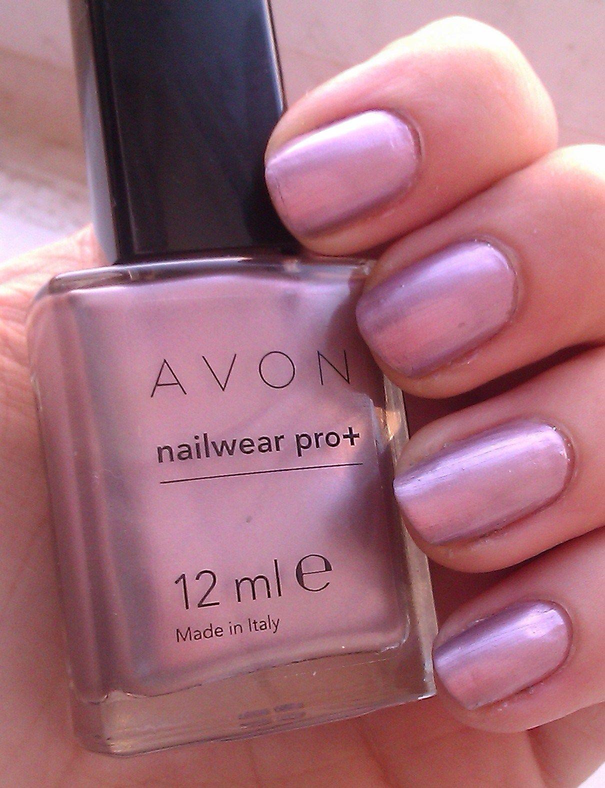 Esmalte 5 em 1 Avon Nailwear Pro+ cor Nude Chic
