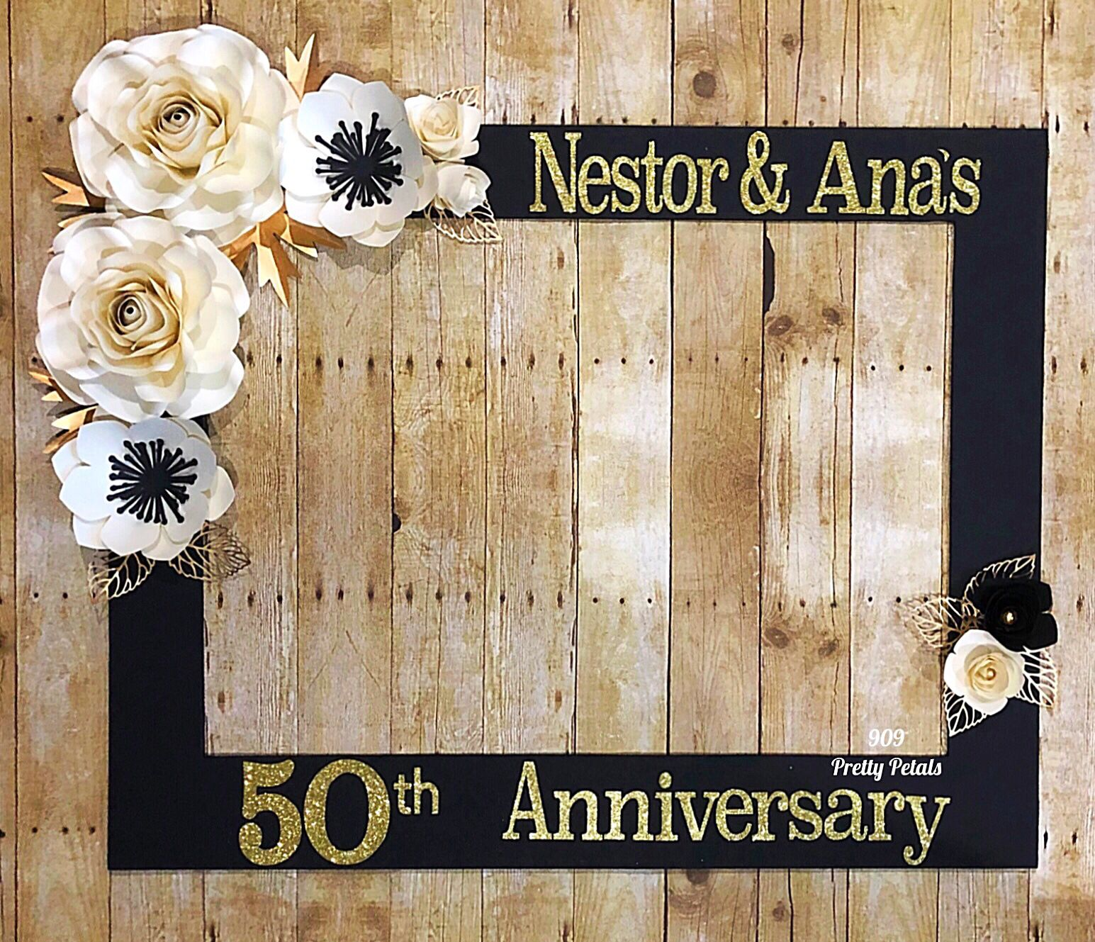 Selfie Frame 50th Anniversary Party Decorations 50th Wedding Anniversary Decorations 50th Anniversary Party