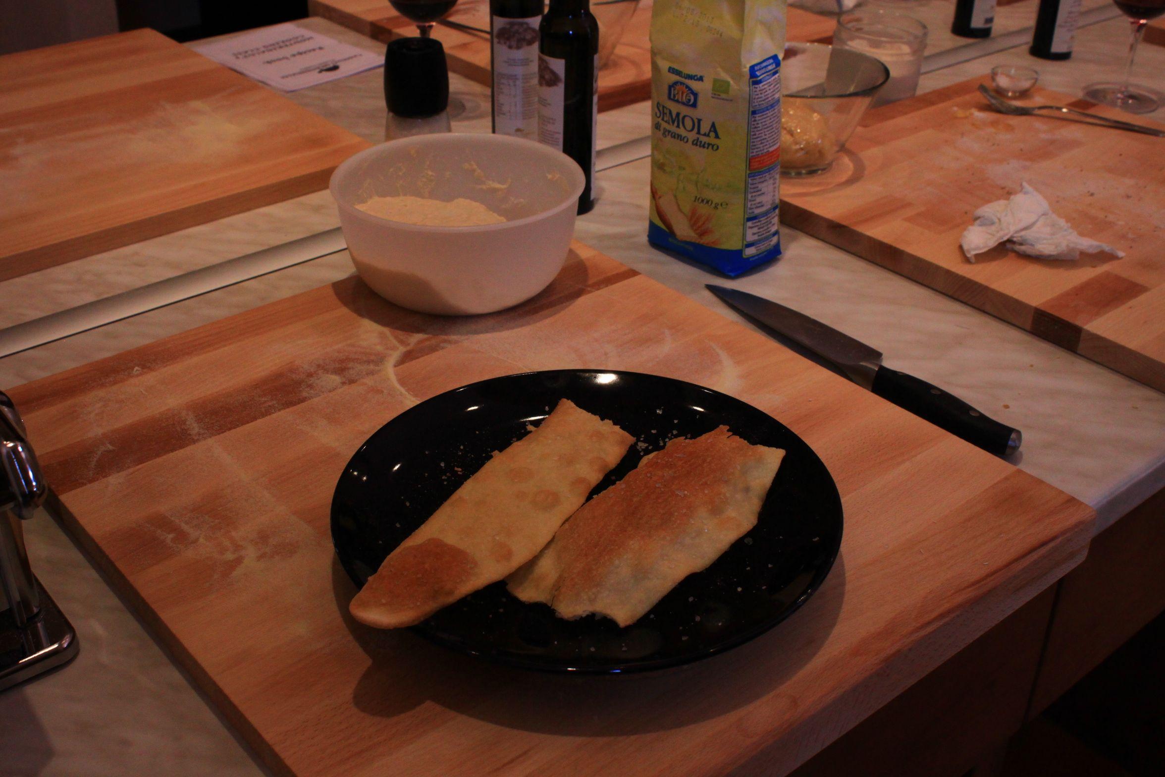 Your schiacciata is ready now!
