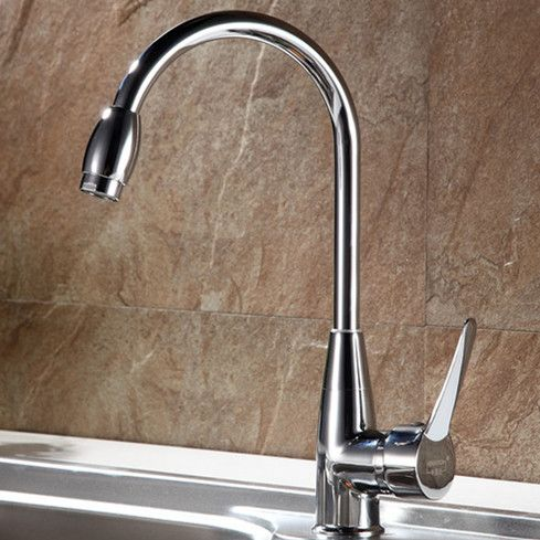 Free shipping High quality zinc alloy kitchen faucet with ...