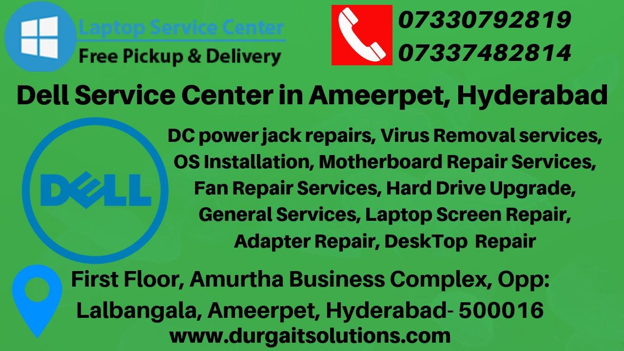 Call 7337482814dell service center in ameerpet