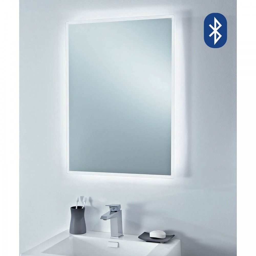 Beatz Bluetooth Led Mirror 750 X 550mm 7785 This Stunning Phoenix Mirror Will Complete The Look Of Your New Bathro Bathroom Mirror Led Mirror Bathroom Mirror