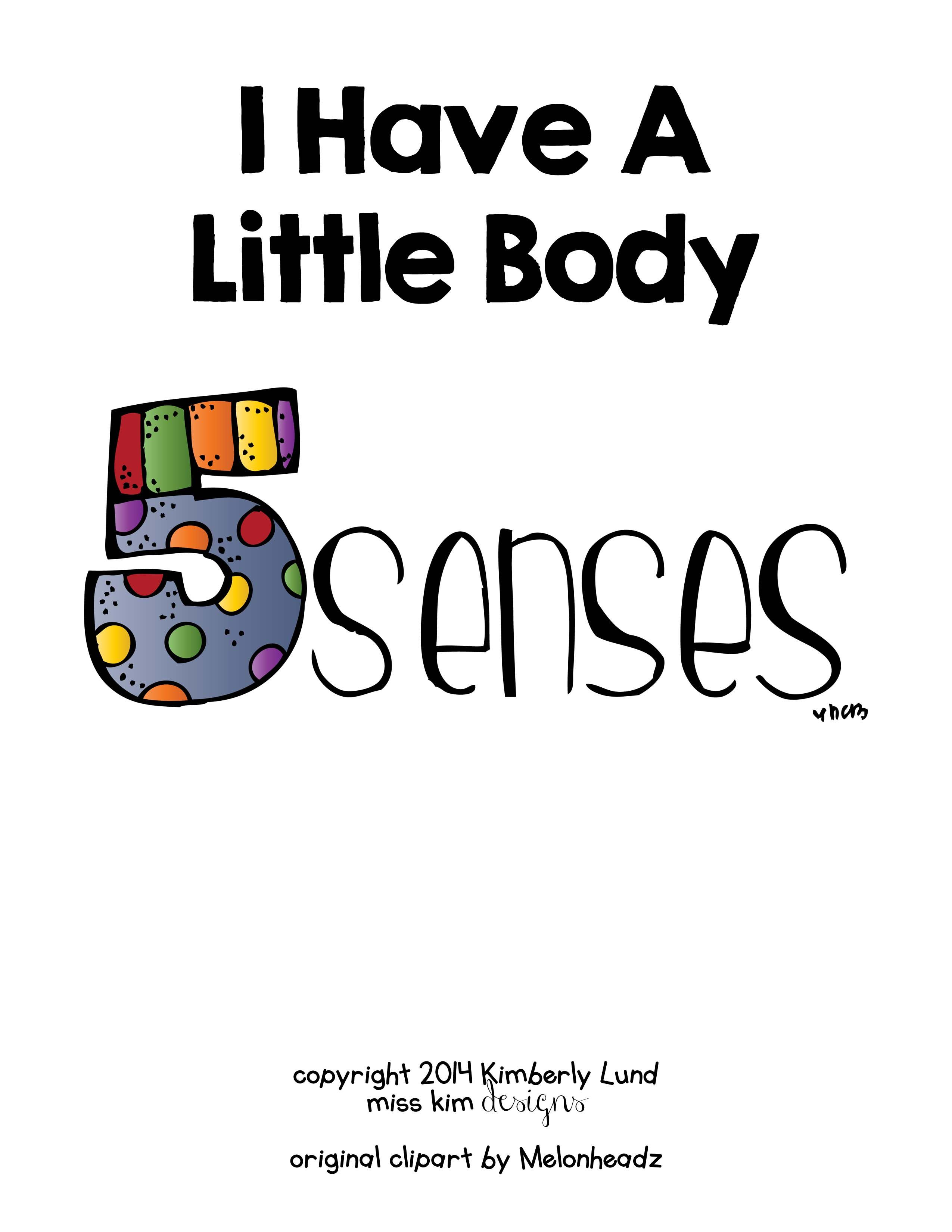 I Have A Little Body Adapted Book For Students With