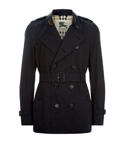 BURBERRY The Kensington Short Heritage Trench Coat. #burberry #cloth #