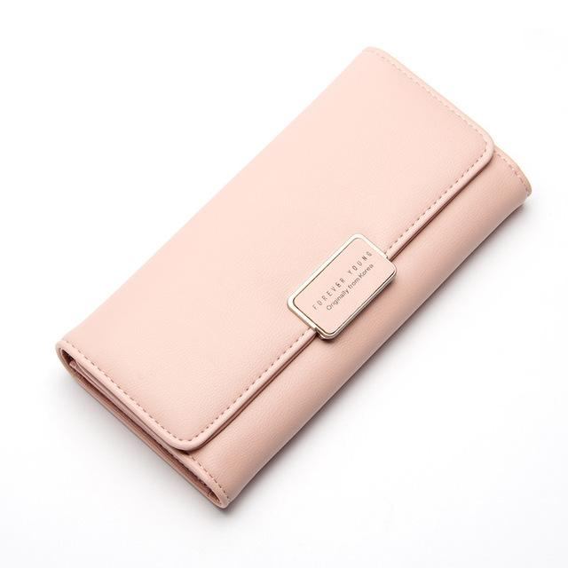 Womens purse pure passport cover large fresh capacity business card womens purse pure passport cover large fresh capacity business card holder natural wallets for female useful colourmoves