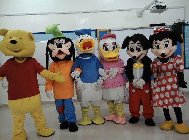 We Provide Combination Of Fresh And Newer Characters With Custom Characters The Mascots Dance Jump And Play With T Kids Playground Mascot Cartoon Characters