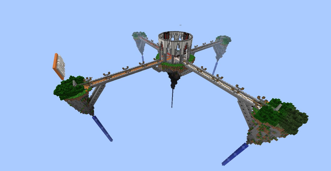 Minecraft Server Lobby Floating Islands 4 Servers Schem Map Download Maps Mapping And Modding Minecraft Forum Lobby Ideas Minecraft Minecraft Creations