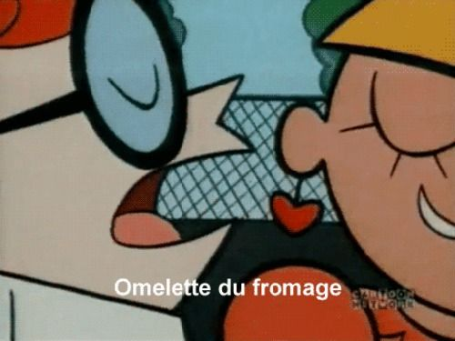 Omelette Du Fromage El Laboratorio De Dexter How To Memorize Things Dexter Dexter S Laboratory