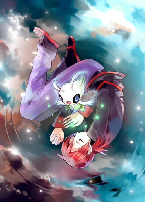 Silver Celebi Pokemon Silver Gold Pokemon Awesome Anime